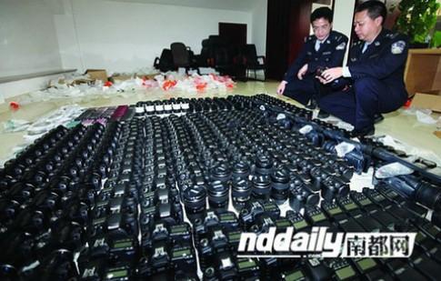 Hơn 60.000 máy ảnh nhập lậu vào Trung Quốc