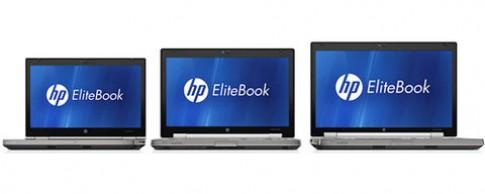 HP giới thiệu bộ ba máy trạm EliteBook 2011