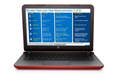 HP ra Pavilion 14 mới dùng chip Skylake, loa hàng hiệu