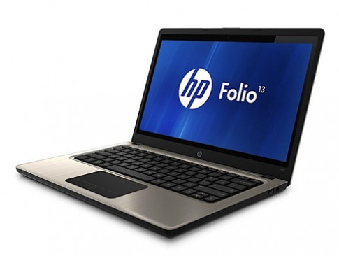 HP ra ultrabook mang tên Folio 13
