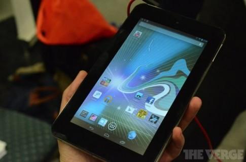 HP trở lại thị trường tablet với Slate 7 giá 169 USD