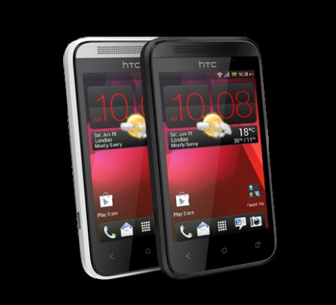 HTC Desire 200 trình làng với giá hơn 3 triệu đồng