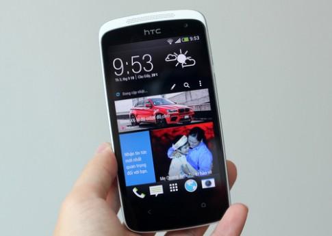 HTC Desire 500 - smartphone tầm trung có giao diện giống One