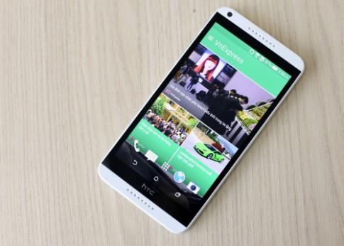HTC Desire 816 - phablet 5,5 inch dáng đẹp giá mềm