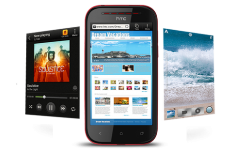 HTC Desire P tầm trung ra mắt