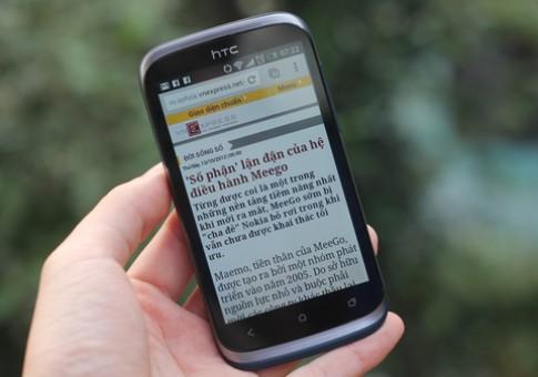 HTC Desire X 'lõi kép' chính hãng giá 7,9 triệu đồng
