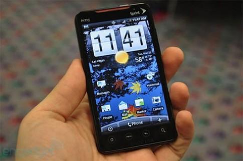 HTC Evo 4G dùng vi xử lý 1,5GHz