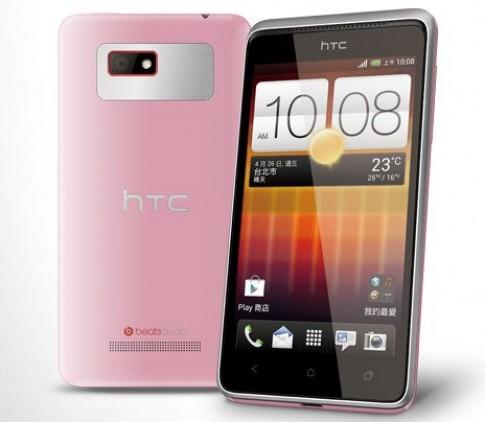 HTC giới thiệu smartphone 'nữ tính' Desire L