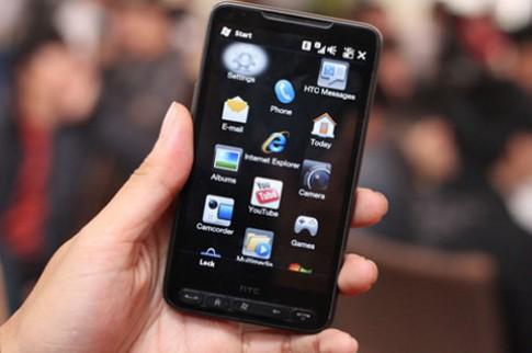 HTC HD2 - smartphone đa nền tảng