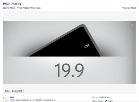 HTC hé lộ smartphone sẽ giới thiệu đêm nay