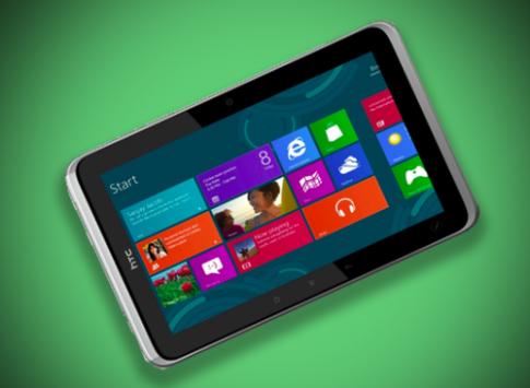 HTC không sản xuất tablet Windows RT 10 inch