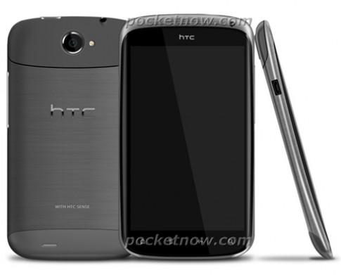HTC lộ ảnh smartphone mỏng nhất của mình