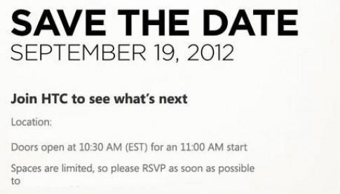 HTC lộ loạt smartphone trước sự kiện đặc biệt ngày 19/9