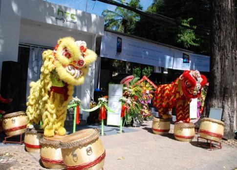 HTC mở showroom ở Sài Gòn
