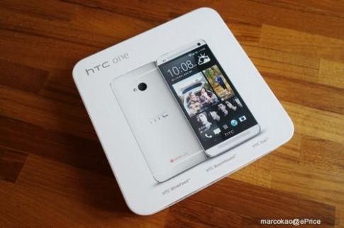 HTC One bắt đầu bán tại Đài Loan