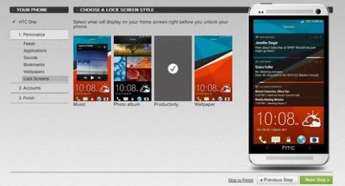 HTC One cho dùng trước trên web trước khi bán