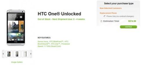 HTC One có giá chưa đến 12 triệu đồng ở Mỹ