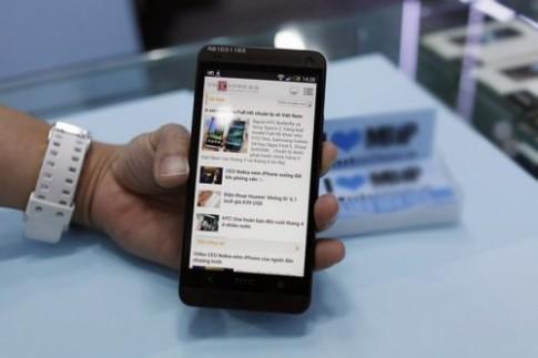 HTC One có giá khoảng 16 triệu tại TP HCM