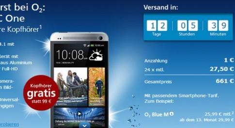 HTC One được niêm yết giá hơn 18 triệu đồng ở Đức