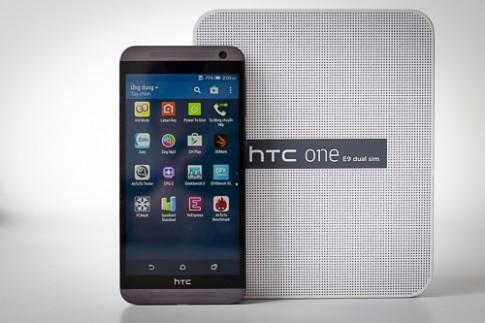 HTC One E9 2 sim - smartphone mỏng nhẹ, màn hình lớn
