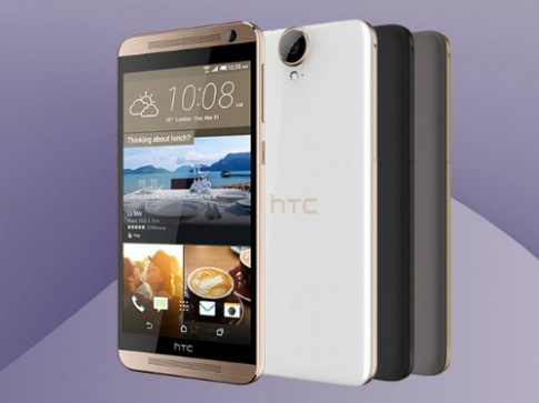 HTC One E9 màn 2K sắp bán ở Việt Nam, giá 13 triệu đồng