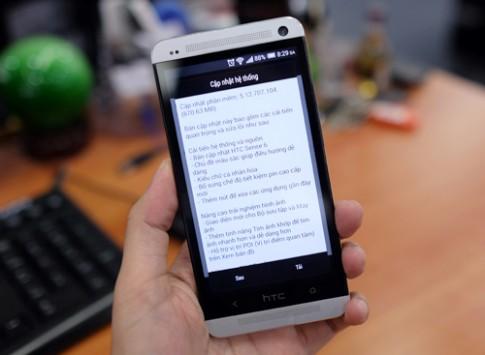 HTC One M7 có bản cập nhật giao diện Sense 6