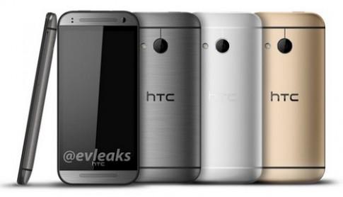HTC One M8 bản mini lộ diện với ba màu