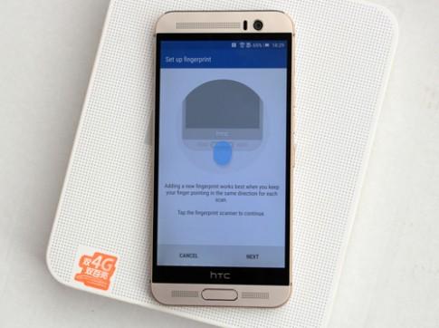 HTC One M9 có cảm biến vân tay về VN giá 15 triệu đồng
