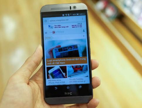 HTC One M9 đầu tiên về Việt Nam giá 17,5 triệu đồng