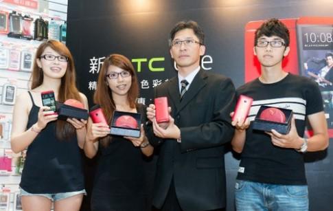 HTC One màu đỏ bắt đầu bán ở Đài Loan