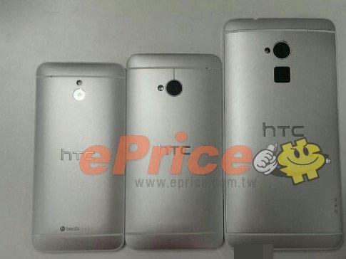 HTC One Max lộ diện với tính năng nhận diện vân tay ở lưng