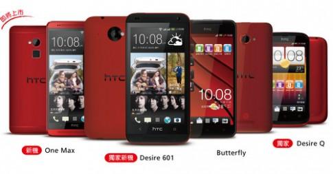 HTC One Max màu đỏ xuất hiện ở Đài Loan