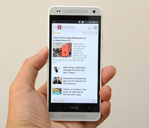 HTC One Mini - bản thu gọn hoàn hảo của HTC One