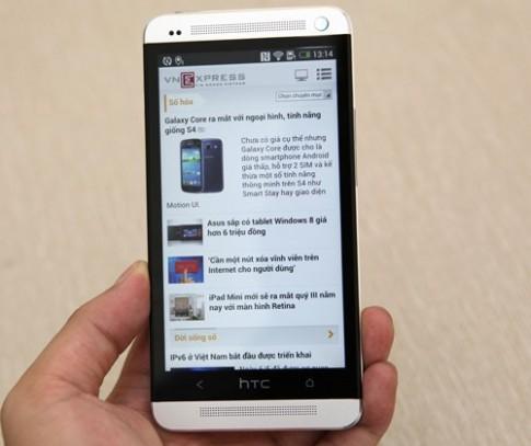 HTC One phiên bản 2 sim xuất hiện tại Việt Nam