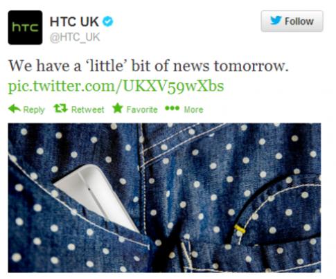 HTC One phiên bản thu nhỏ có thể ra mắt ngay hôm nay