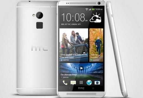 HTC One 'phóng to' trình làng với cảm biến vân tay