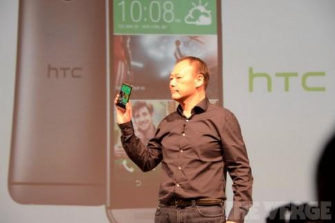 HTC One thế hệ mới ra mắt với vỏ nhôm nguyên khối, camera kép