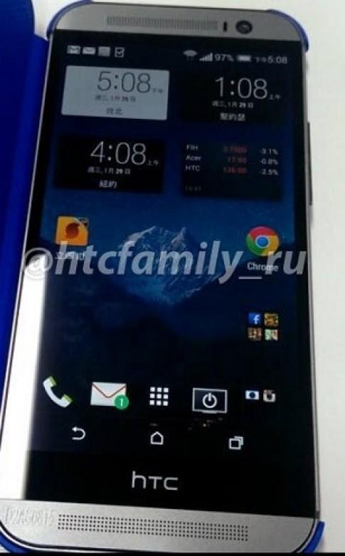 HTC One thế hệ mới xuất hiện với ảnh chi tiết