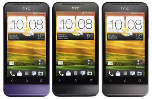 HTC One V xuất hiện với hai phiên bản màu mới