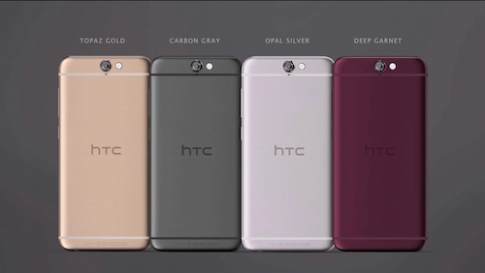 HTC ra One A9 chạy Android 6.0 Marshmallow, giá từ 399 USD