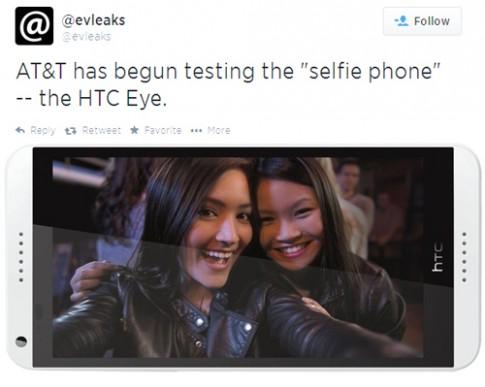 HTC sắp ra điện thoại cho các tín đồ chụp ảnh selfie