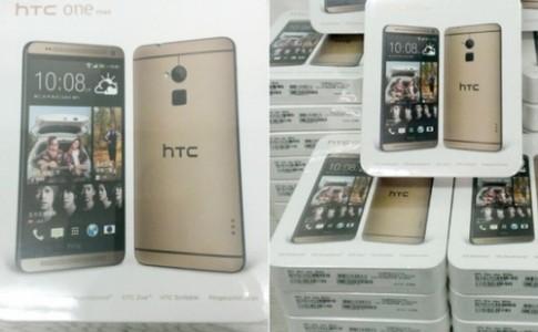 HTC thêm phiên bản vàng cho phablet One Max