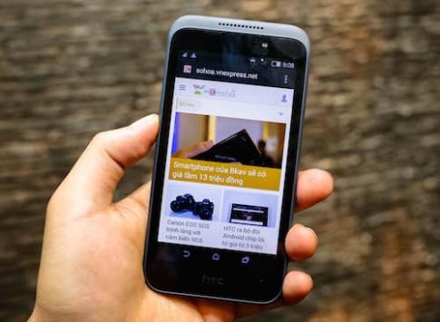 HTC thêm smartphone giá 3 triệu đồng vào thị trường Việt