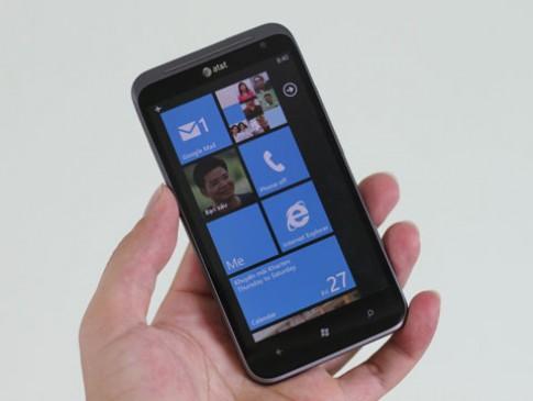 HTC Titan II máy ảnh 16 'chấm' tại VN