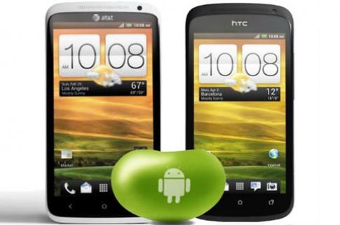HTC 'ưu ái' One XL và One S khi lên Jelly Bean