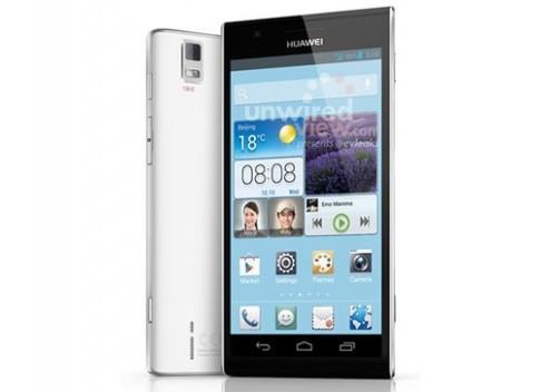 Huawei Ascend P2 - smartphone có tốc độ mạng nhanh nhất thế giới
