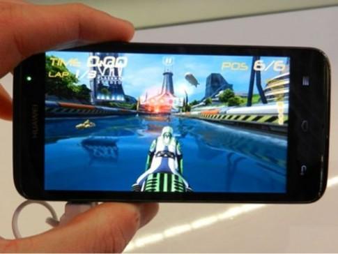 Huawei D1 Quad XL - smartphone 'chuyên trị' game 3D