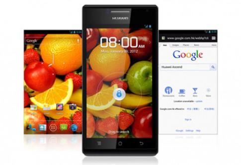 Huawei mang smartphone 4 nhân đến MWC 2012