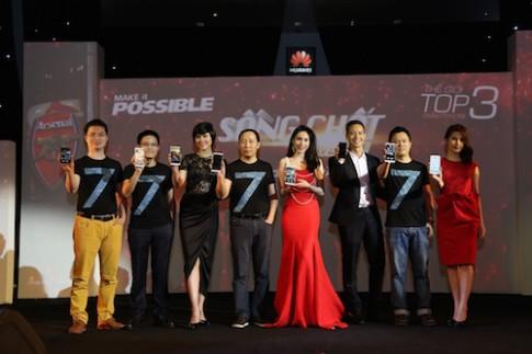 Huawei ra mắt loạt smartphone mới tại Việt Nam