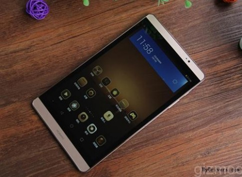 Huawei ra máy tính bảng MediaPad M2, cấu hình giống P8